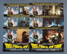 "ESCAPE FROM NEW YORK (1981) - (Lot of 6) - Complete Set of ALL Six Italian Photobustas - 19"" x"