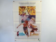 A pair of movie posters for THE TALL T (1957) - US Insert - tri-folded - tape repairs and some