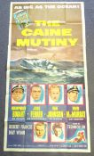 CAINE MUTINY (1954) - 3 sheet movie poster for the military courtroom drama starring HUMPHREY