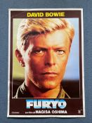 MERRY CHRISTMAS MR. LAWRENCE (1983) - DAVID BOWIE character poster - Italian commercial one-
