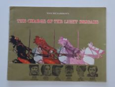 CHARGE OF THE LIGHT BRIGADE (1968) - A UK Quad film poster together with cinema souvenir