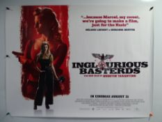 INGLOURIOUS BASTERDS (2009) - Set of 4 Advance UK Quad film posters - rolled as issued (4)