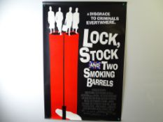 A group of modern movie posters to include; LOCK, STOCK AND TWO SMOKING BARRELS (1998), GOOD WILL