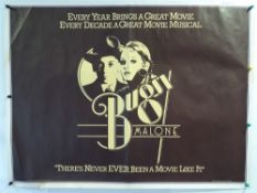 A selection of film posters to include 9 x UK QUADS: BUGSY MALONE (1976), FANTASIA (1976 re-