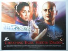 ACTION: A selection of rolled Film Posters to include: CROUCHING TIGER HIDDEN DRAGON (2000),