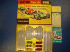 VINTAGE TOYS: A WRENN Formula 152 set 0 slot racin