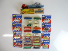 VINTAGE TOYS: A selection of TRI-ANG MINIX cars an