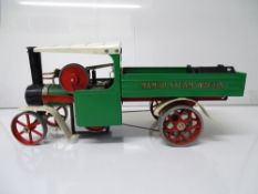 VINTAGE TOYS: A MAMOD live steam wagon in original