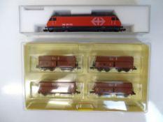 N SCALE MODEL RAILWAYS: A pair of European Outline