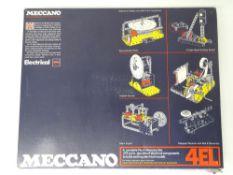 VINTAGE TOYS: MECCANO - A 275 part 'MECCANO 4EL' c