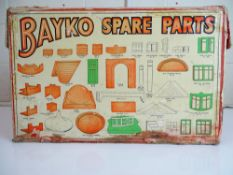 VINTAGE TOYS: A rare late 1940s BAYKO retailers co