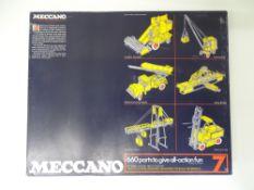 VINTAGE TOYS: MECCANO - A 660 part 'MECCANO 7' con