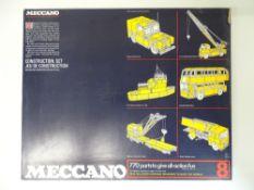 VINTAGE TOYS: MECCANO - A 770 part 'MECCANO 8' con