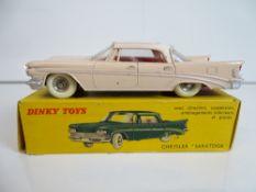 VINTAGE TOYS: A French DINKY 550 Chrysler Saratoga