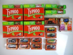 GENERAL DIECAST: A quantity of promotional vans to
