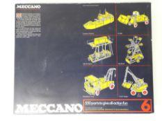 VINTAGE TOYS: MECCANO - A 550 part 'MECCANO 6' con