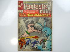 FANTASTIC FOUR #33 - (1964 - MARVEL - UK Cover Price) - First appearance of Attuma + Sub-Mariner