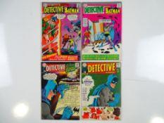 DETECTIVE COMICS: BATMAN #361, 364, 366, 367 (4 in Lot) - (1967 - DC - UK Cover Price) - Flat/