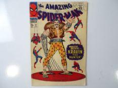 AMAZING SPIDER-MAN #47 - (1967 - MARVEL - UK Price Variant) - Kraven the Hunter, Green Goblin, Harry