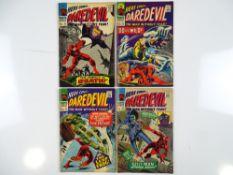 DAREDEVIL #20, 23, 25, 26 - (4 in Lot) - (1966/67 - MARVEL - UK Price Variant) Run includes The Leap