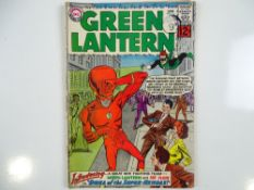 GREEN LANTERN #13 - (1962 - DC - UK Cover Price) - First Silver Age Flash crossover (first of many