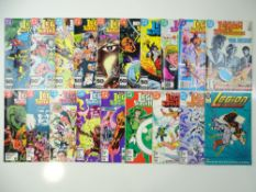 LEGION OF SUPER-HEROES - (19 in Lot) - (1985/87 - DC) - Includes #324, 327, 328, 329, 330, 332, 333,