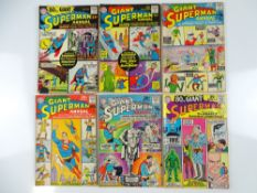 SUPERMAN: GIANT-SIZE ANNUAL #1, 4, 5, 6, 7, 11 - (6 in Lot) - (1964/65 - DC - UK Cover Price) -