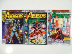 AVENGERS #185, 186, 187 - (1979 - MARVEL - UK Price Variant) - Origin of Quicksilver & Scarlet Witch