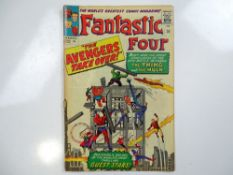 FANTASTIC FOUR #26 - (1964 - MARVEL - UK Price Variant) - Conclusion of the first Hulk vs. Thing