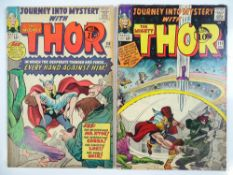 JOURNEY INTO MYSTERY: THOR #110 & 111 - (2 in Lot) - (1964 - MARVEL - UK Cover Price) - Mr. Hyde,