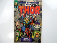 JOURNEY INTO MYSTERY #123 - (1965 - MARVEL - UK Price Variant) - Loki, Absorbing Man appearances -