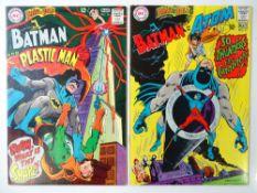 BRAVE AND BOLD #76 & 77 - (2 in Lot) - (1968 - DC - UK Cover Price) - Batman, Plastic Man, Atom
