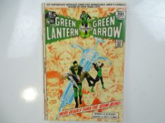 GREEN LANTERN #86 - (1971 - DC) - Anti-drug issue - Classic Neal Adams cover with Adams and Dick