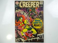 CREEPER, BEWARE THE #1 - (1968 - DC - UK Cover Price) - Classic Steve Ditko cover and interior art -