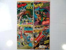 BRAVE AND BOLD #84, 85, 86, 87 - (4 in Lot) - (1969/70 - DC - UK Cover Price) - Batman, Sgt. Rock,