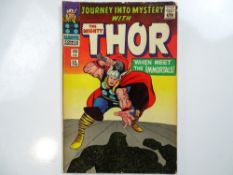 JOURNEY INTO MYSTERY #125 - (1966 - MARVEL - UK Price Variant) - Final issue before the title