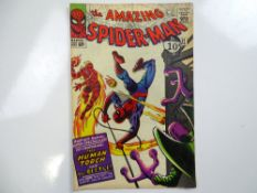 AMAZING SPIDER-MAN #21 - (1965 - MARVEL - UK Cover Price) - Second appearance of the Beetle +