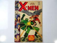 UNCANNY X-MEN #29 - (1967 - MARVEL - UK Price Variant) - X-Men battle the Super-Adaptoid + Mimic