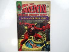 DAREDEVIL #13 - (1966 - MARVEL - UK Price Variant) - Origin of Ka-Zar and the Plunderer - Zabu