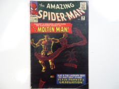 AMAZING SPIDER-MAN #28 - (1965 - MARVEL - UK Price Variant) - Origin and First appearance of