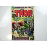 JOURNEY INTO MYSTERY #112 - (1965 - MARVEL - UK Cover Price) - Classic Hulk vs. Thor cover and story