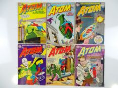 ATOM #9, 10, 12, 13, 14, 15 (6 in Lot) - (1963/64 - DC - UK Cover Price) - Flat/Unfolded - a