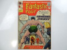 FANTASTIC FOUR #14 - (1963 - MARVEL - UK Price Variant) - The Fantastic Four battle both the Sub-
