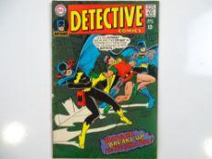 DETECTIVE COMICS: BATMAN #369 - (1967 - DC - UK Cover Price) - Batgirl Cover + First Batgirl / Robin