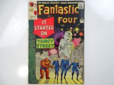 FANTASTIC FOUR #29 - (1964 - MARVEL - UK Price Variant) - Fantastic Four battle the Red Ghost and