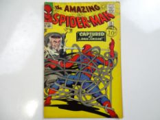 AMAZING SPIDER-MAN #25 - (1965 - MARVEL - UK Cover Price) - First appearance of Mary Jane Watson (
