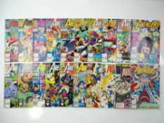 AVENGERS - (20 in Lot) - (1989/93 - MARVEL) - Includes issues #306, 307, 308, 309, 319, 321, 322,