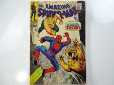 AMAZING SPIDER-MAN #57 - (1968 - MARVEL - UK Cover Price) - Ka-Zar and Zabu appearances - John