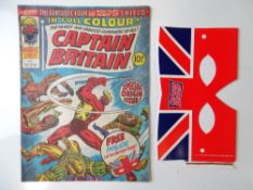 CAPTAIN BRITAIN #1 - (MARVEL UK -1976) - Origin and First appearance of Captain Britain & includes