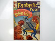 FANTASTIC FOUR #18 - (1963 - MARVEL - UK Price Variant) - Origin and first appearance of the Super-